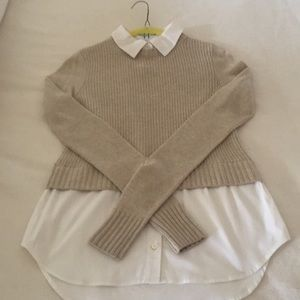 Veronica Beard Cashmere Sweater/shirt